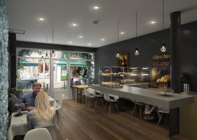 Infographiste 3D Architecture - Perspective 3D commerce intérieur Londres
